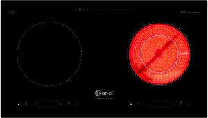 Bếp điện kết hợp từ Fandi FD 220IH
